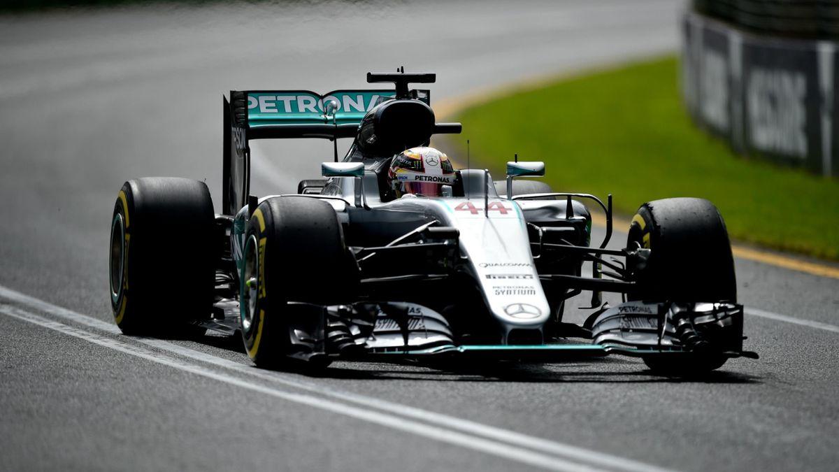 Lewis Hamilton (Mercedes) - GP of Australia 2016