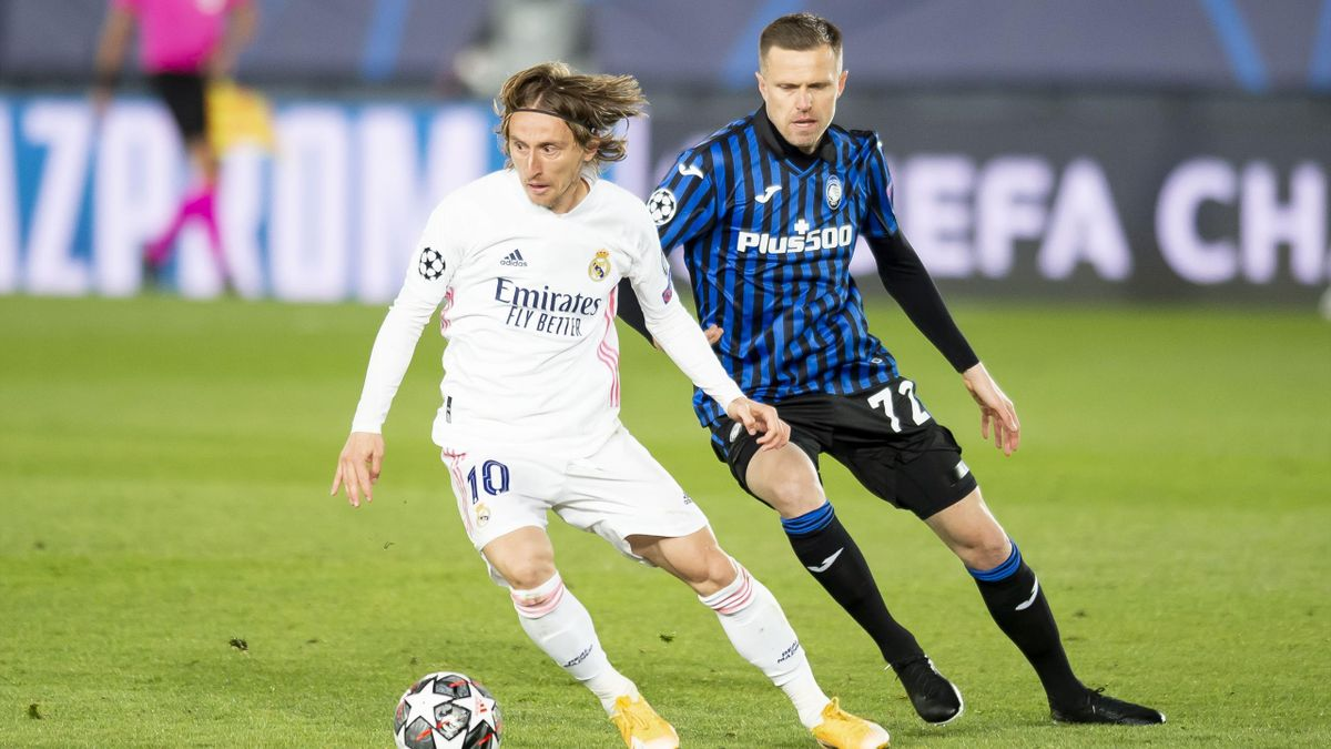 Ilicic contro Modric in Real Madrid-Atalanta