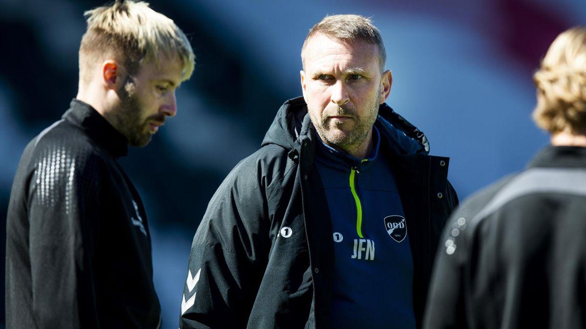 Odds Hovedtrener Jan Frode Nornes før treningskamp mot Stabæk tidligere i år.