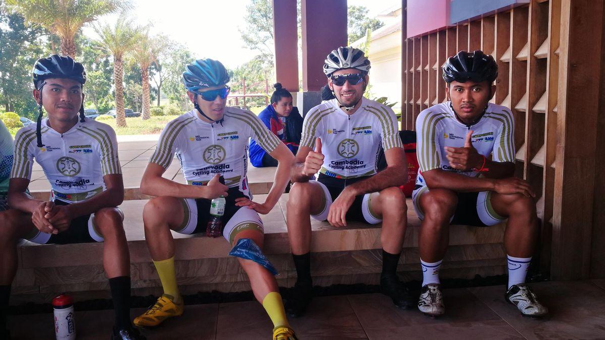 La Cambodia Cycling Academy de Samy Aurignac dans la tourmente (Droits Réservés).