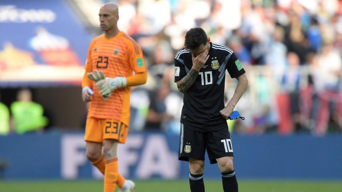 Messi gegen Island