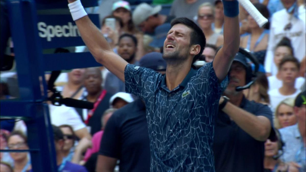 US OPen highlights Day 8 : Novak Djokovic v Joao Sousa