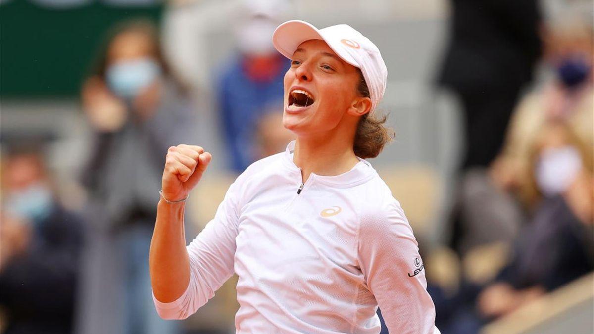 Iga Swiatek a remporté son premier titre en Grand Chelem à Roland-Garros
