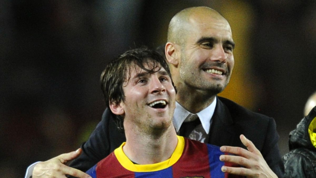 Guardiola und Messi