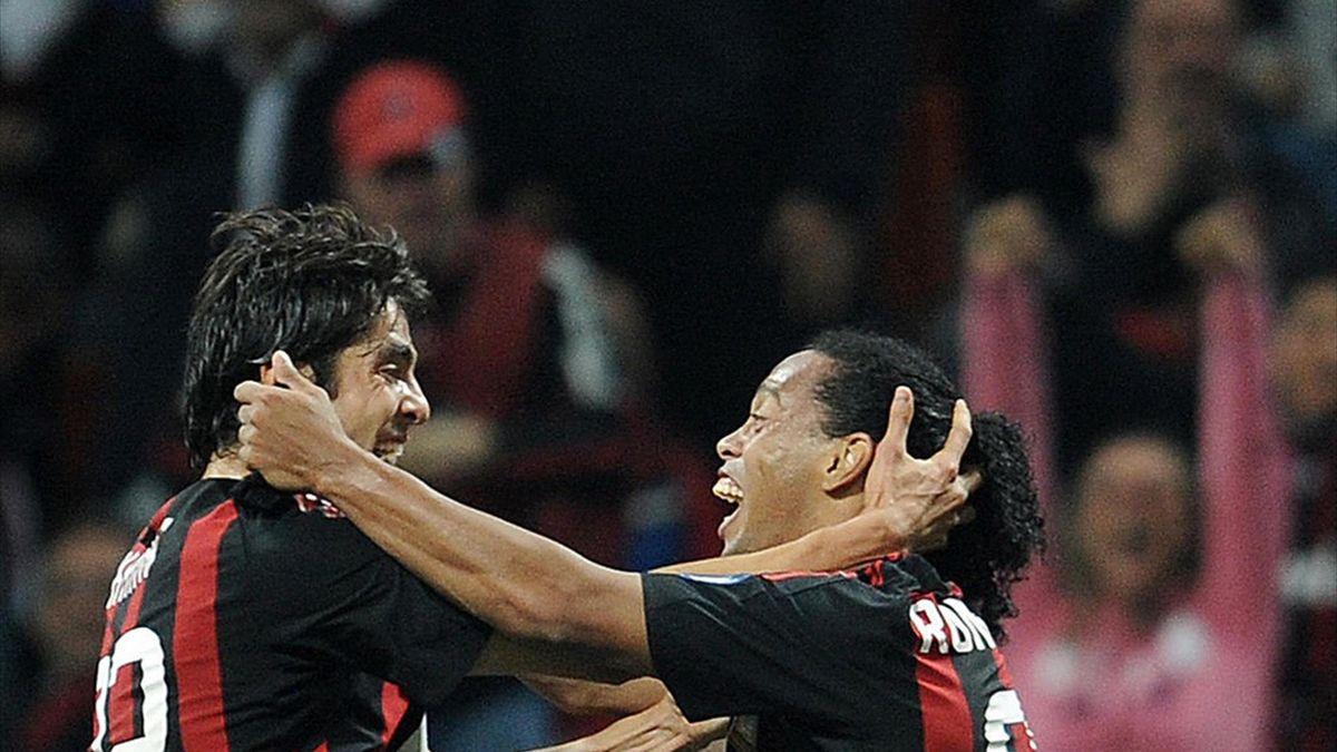 Kaka en Ronaldinho