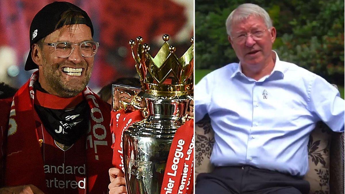 Sir Alex Ferguson l-a felicitat pe Jurgen Klopp pentru sezonul istoric
