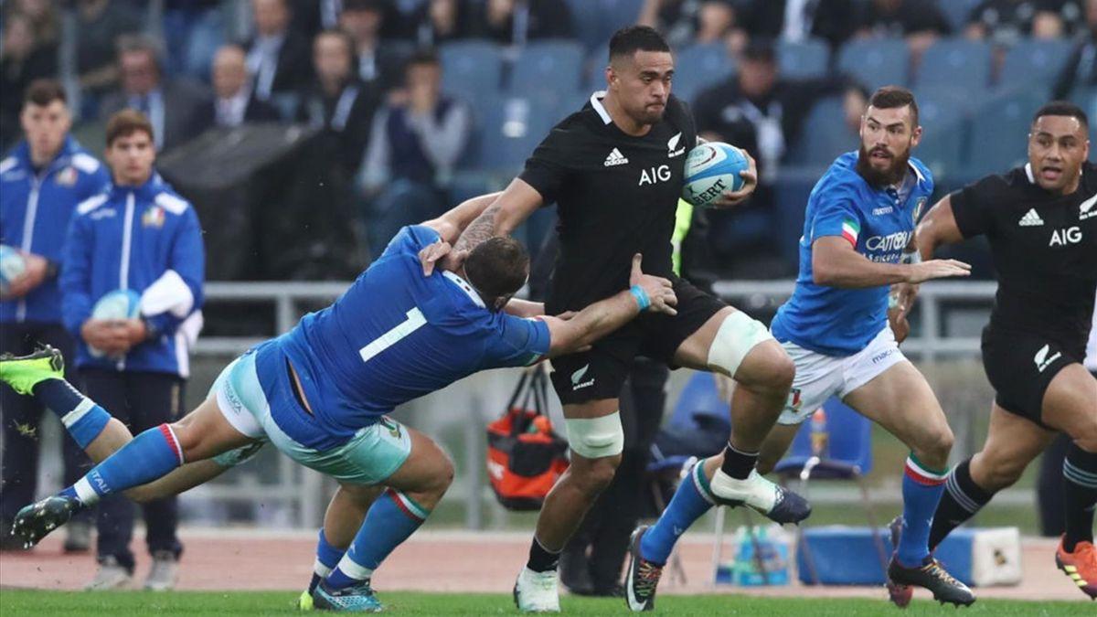 Italia-Nuova Zelanda all'Olimpico nel novembre 2018 - Test Match Cattolica 2014 contro gli All Blacks - Getty Images