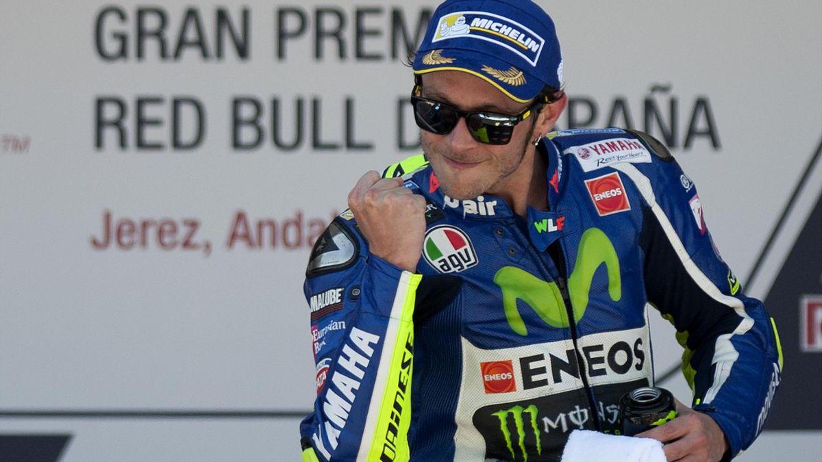 Valentino Rossi Jerez 2016