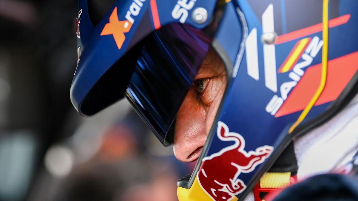 Carlos Sainz, en el Rally Dakar 2021