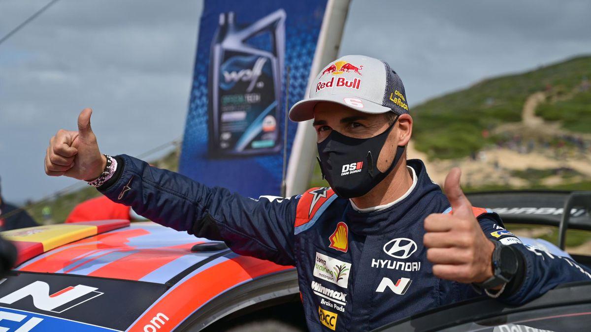 Dani Sordo (Hyundai) vainqueur Rallye d'Italie 2020