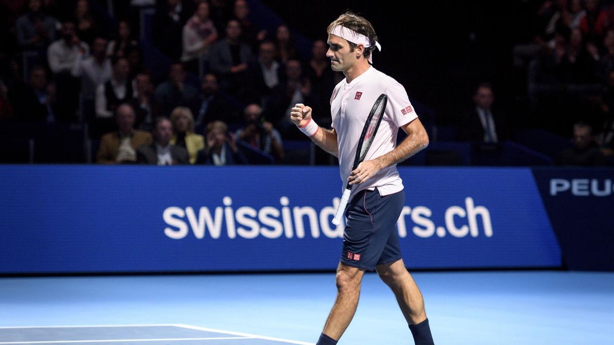 Federer has now won 18 consecutive matches at the ATP World Tour 500-level event
