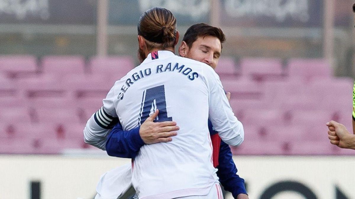 Sergio Ramos (Real Madrid), Lionel Messi (FC Barcelona)