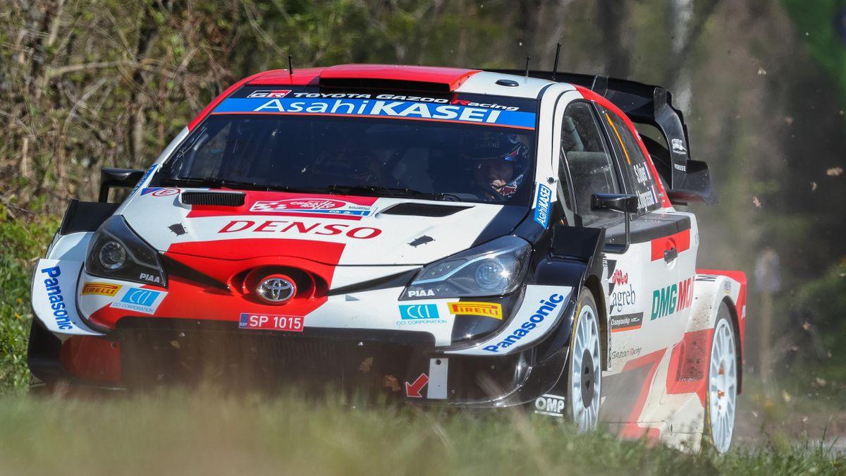ebastien Ogier et Konstantin Aleksandrov (Toyota) - Rallye de Croatie 2021