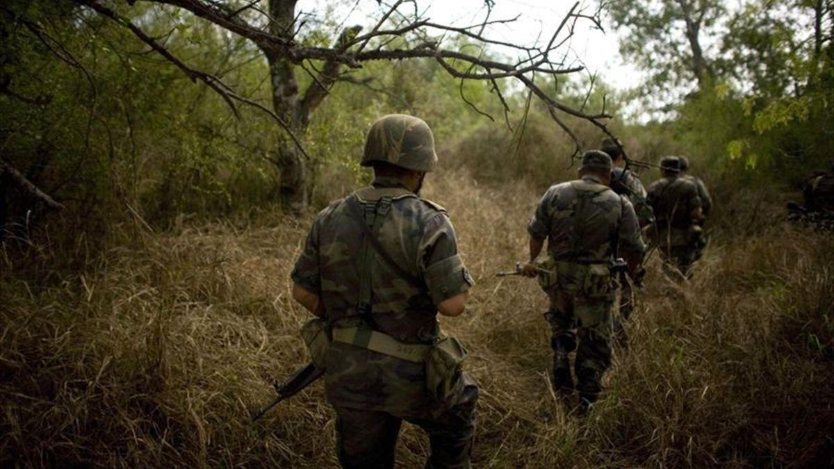 Мексика, солдаты
