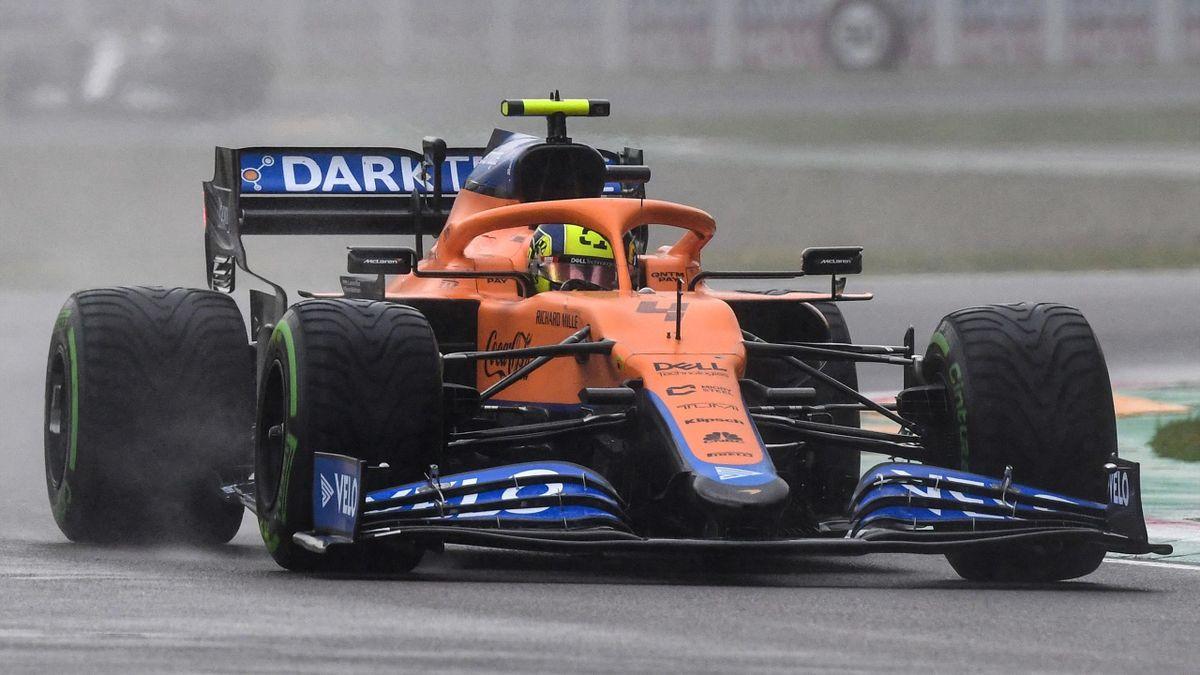 Lando Norris (McLaren) in Imola