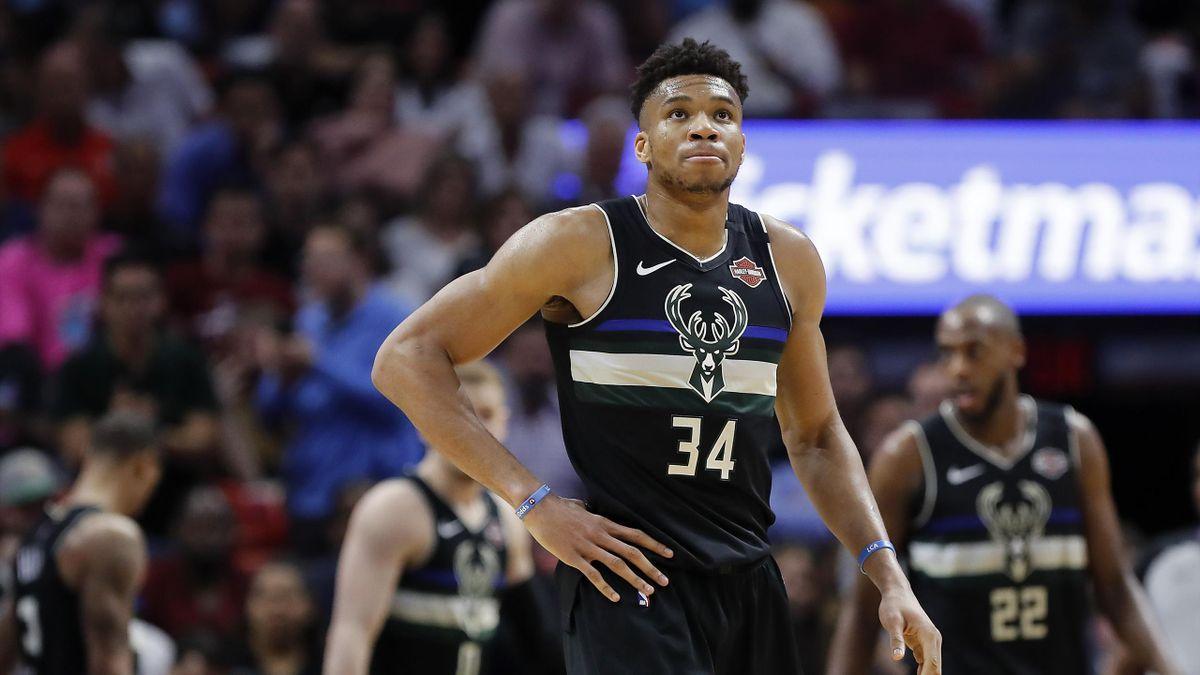 Giannis Antetokounmpo n'était pas en réussite face au Miami Heat ce lundi 2 mars 2020 en NBA