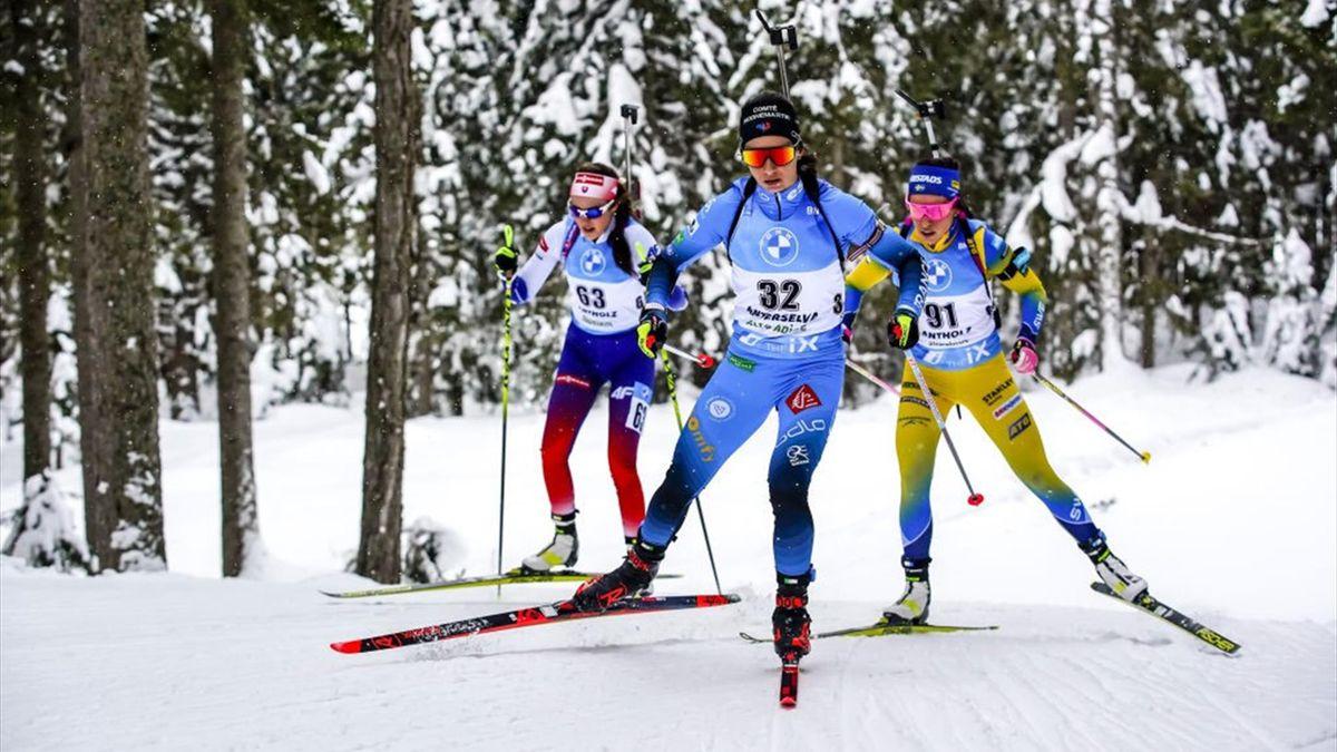 Biathlon in Antholz 2021