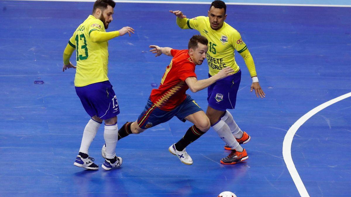 España-Brasil de fútbol sala