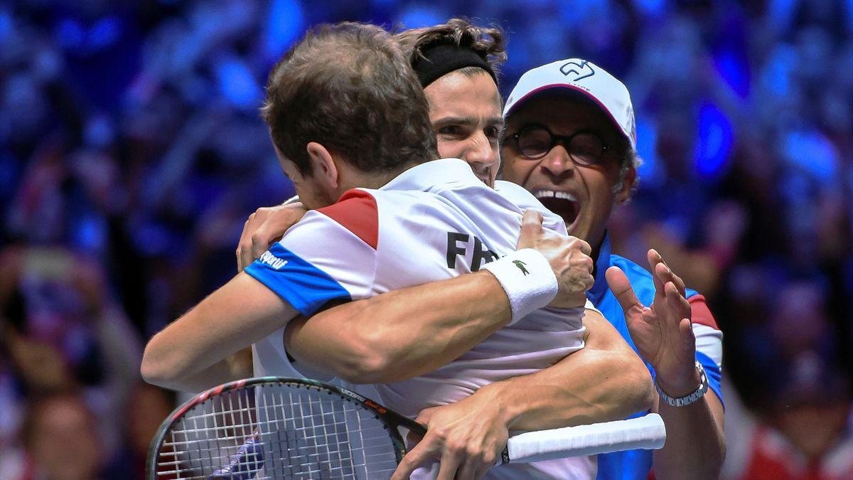 Gasquet Herbert Noah - France 2017 Coupe Davis