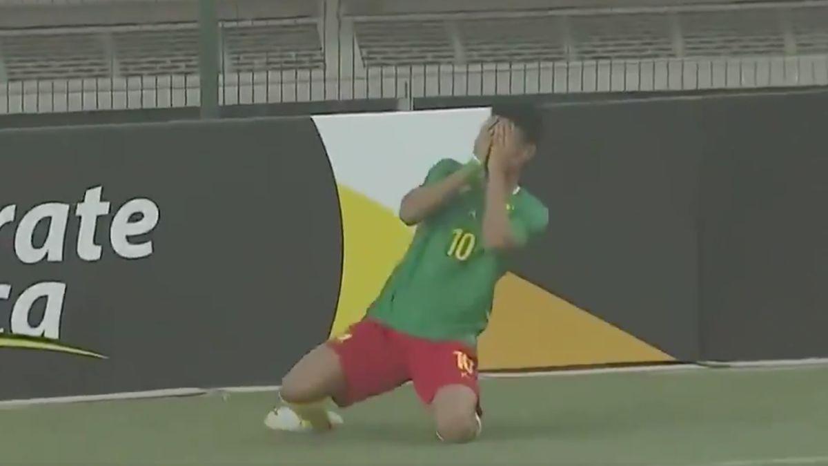 Etienne Eto'o Pineda - Camerun-Mozambico - Coppa d'Africa Under 20 2021