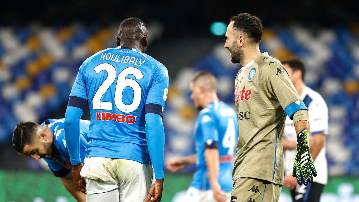 Koulibaly e Ospina, Napoli-Atalanta, Coppa Italia