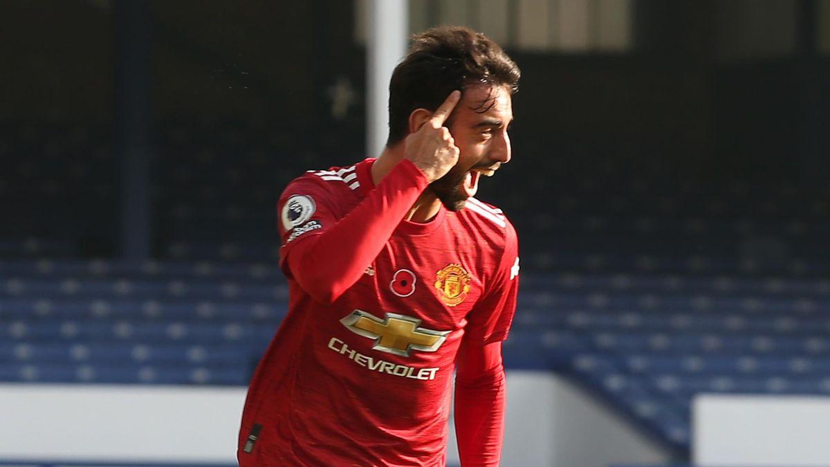 Bruno Fernandes este cel mai important jucător de la Manchester United în acest an 2020