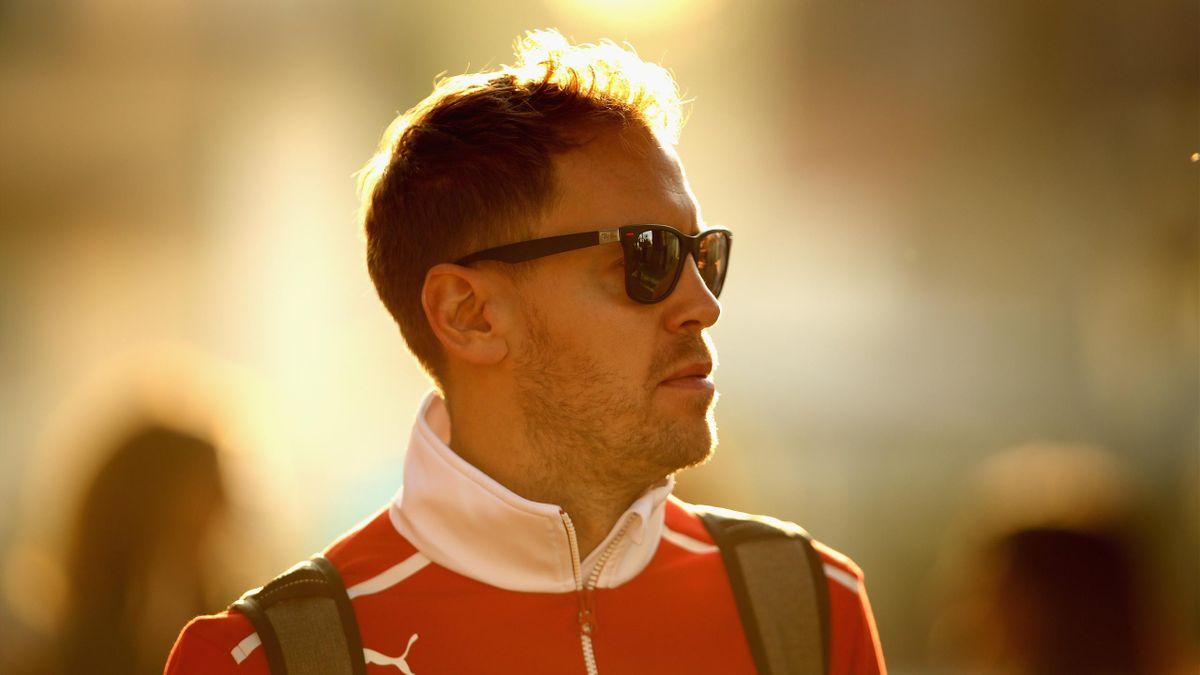 Sebastian Vettel (Ferrari) - Grand Prix of Mexico 2017