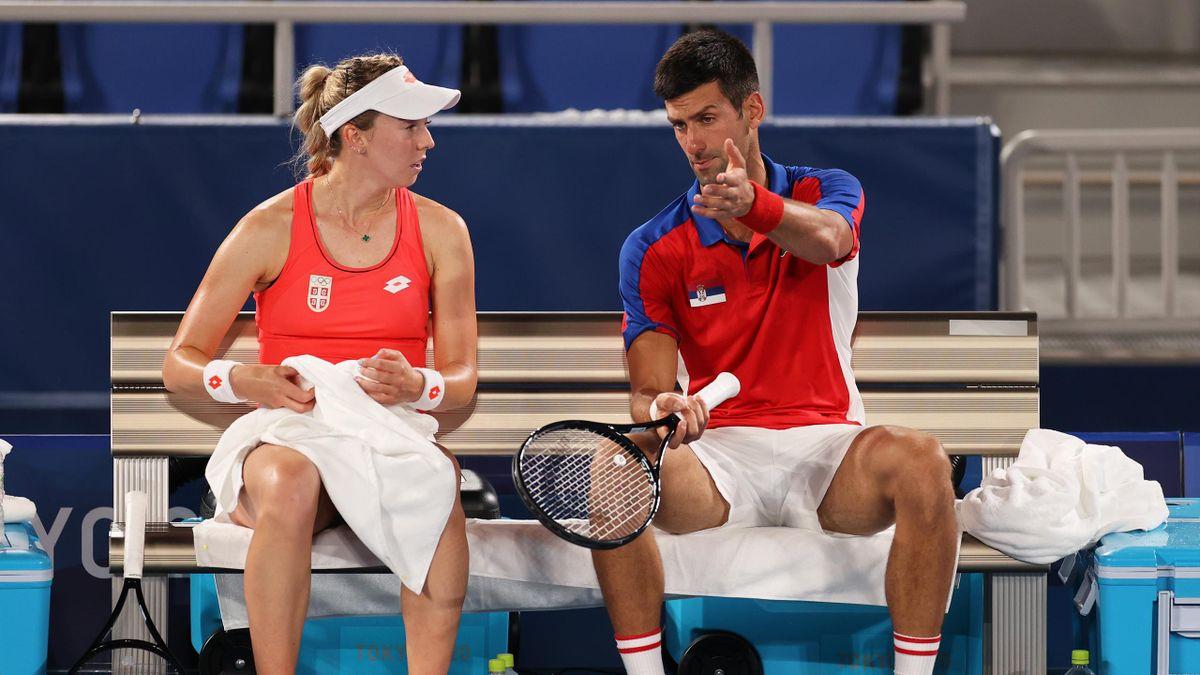 Novak Djokovic e Nina Stojanovic