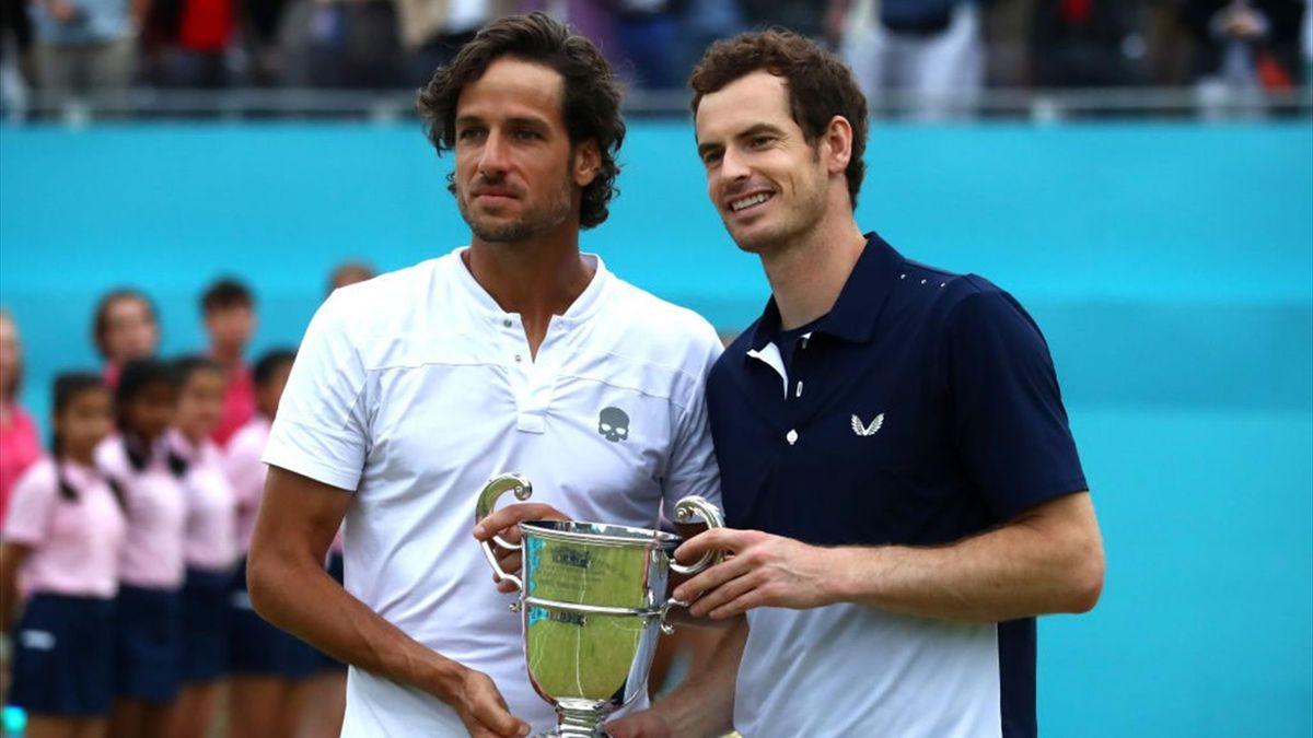 Feliciano López y Andy Murray, Queen's 2019
