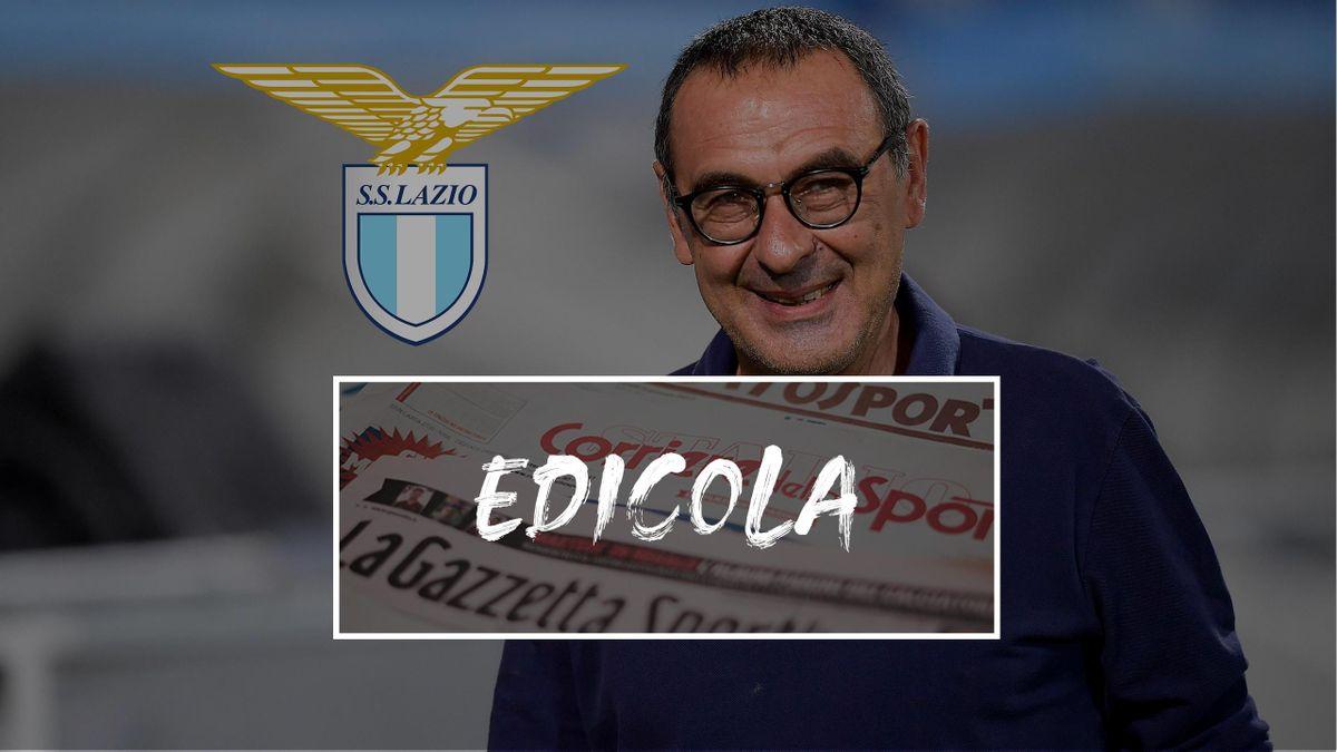 Edicola, Maurizio Sarri verso la Lazio