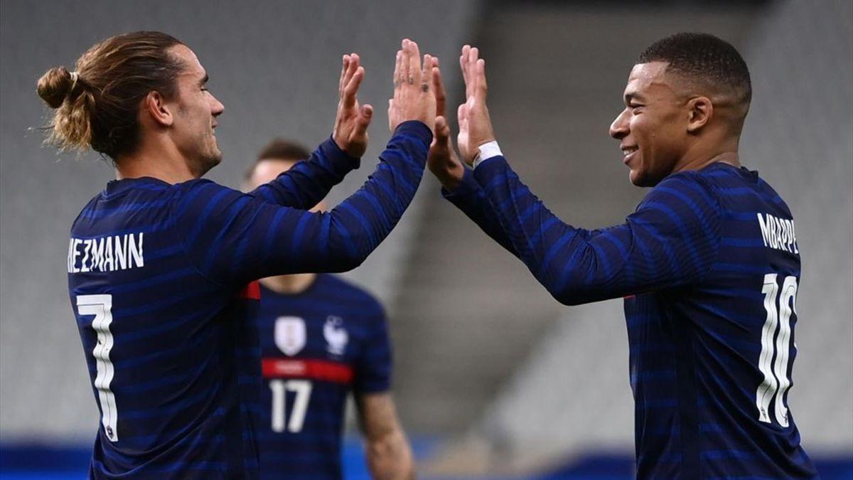 Testspiele Frankreich