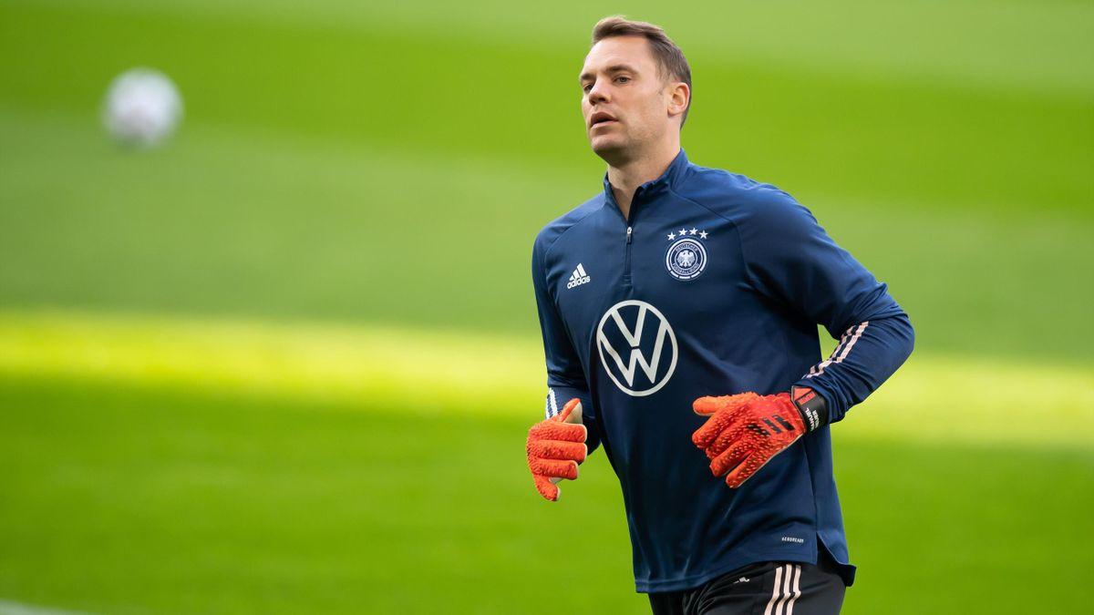 Manuel Neuer beim DFB-Training