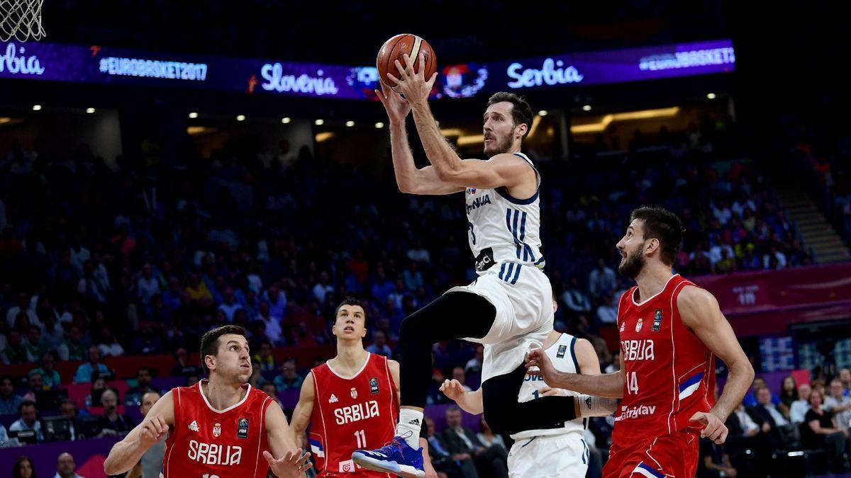 2017, Goran Dragic, Slovenia-Serbia, Eurobasket, Getty Images