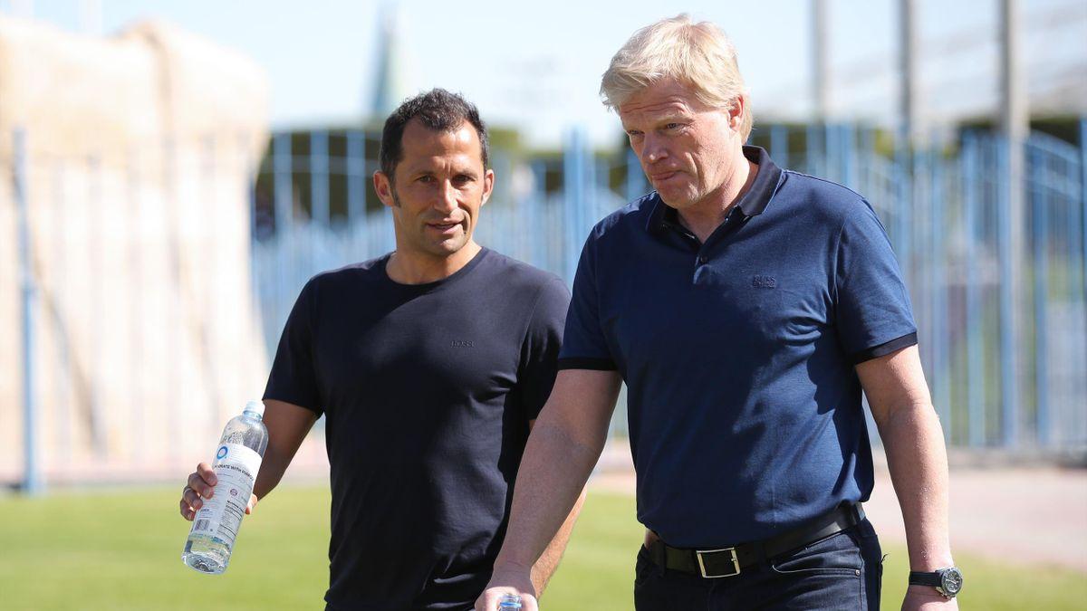 Sollen den FC Bayern München an der Spitze in der Zukunft führen: Oliver Kahn (rechts) und Hasan Salihamidzic