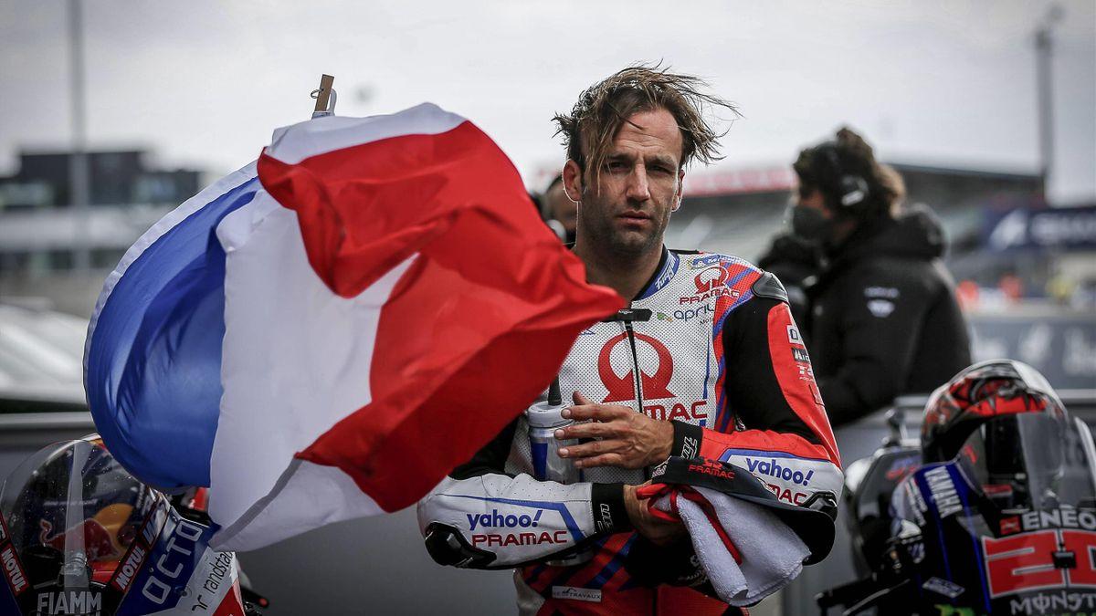 Races of MotoGP SHARK Grand Prix of France at Le Mans circuit, Francia May 16, 2021 In picture: France Johann Zarco Carreras del Gran Premio SHARK de MotoGP de Francia en el