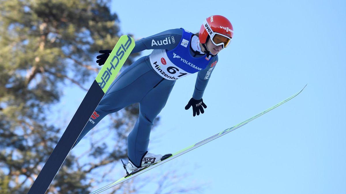 Katharina Althaus verpasst in Tschaikowski die Top Ten