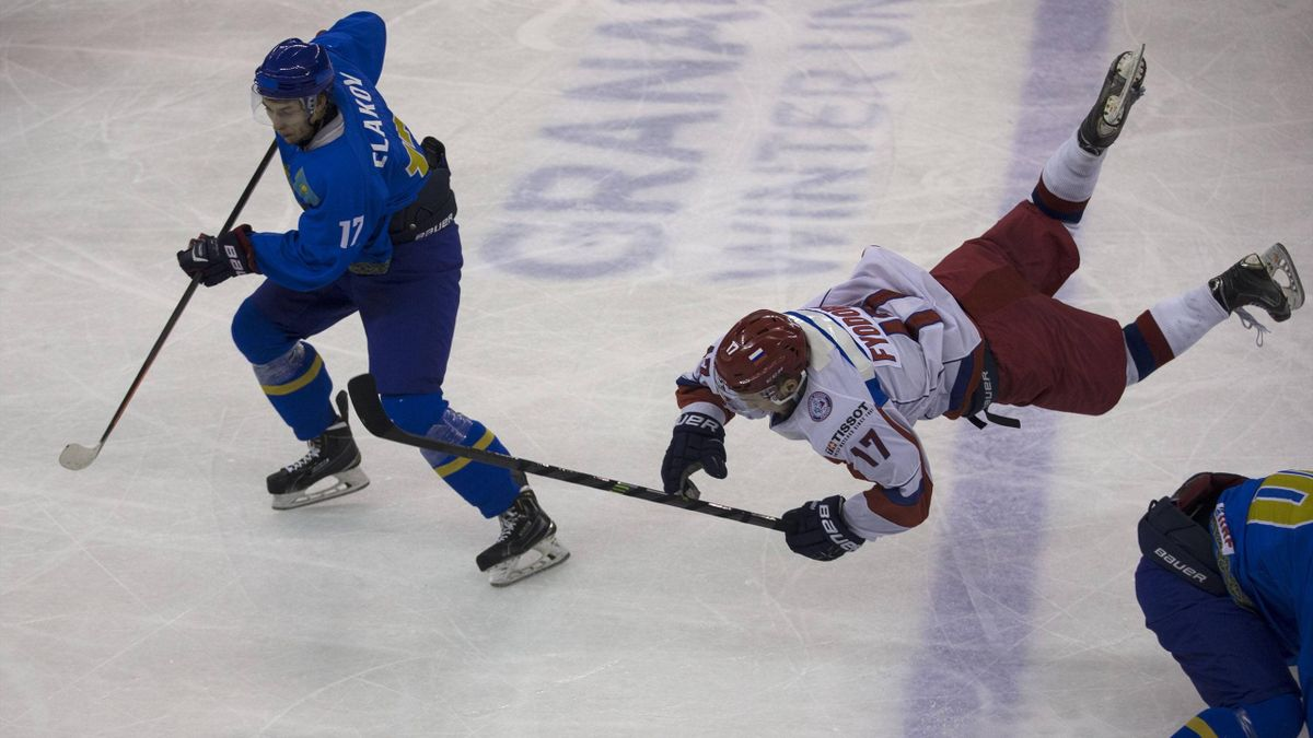 Russia v Kazakhstan ice hockey (Imago)