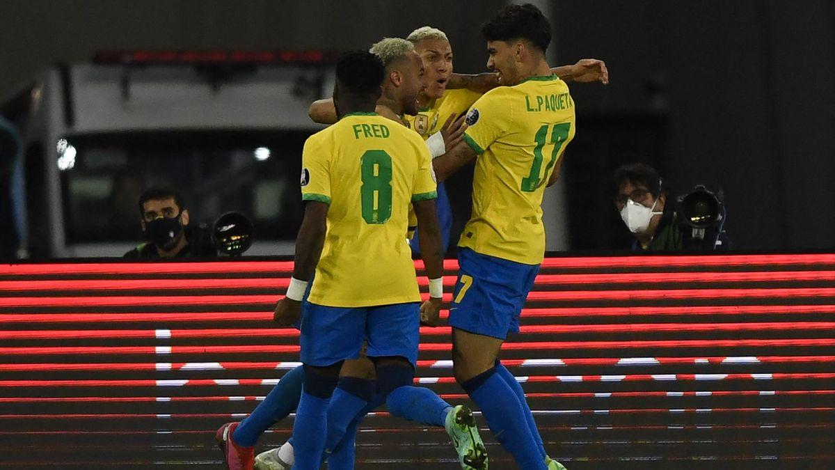 Brazil Chile Copa America