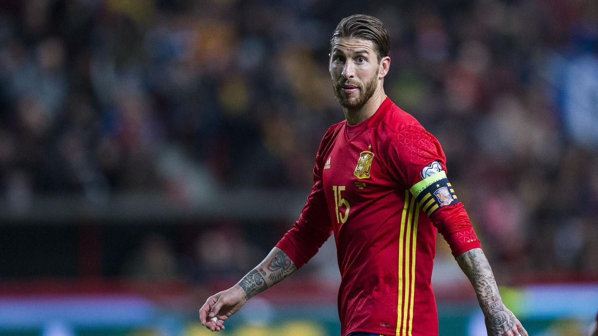 Sergio Ramos Espagne