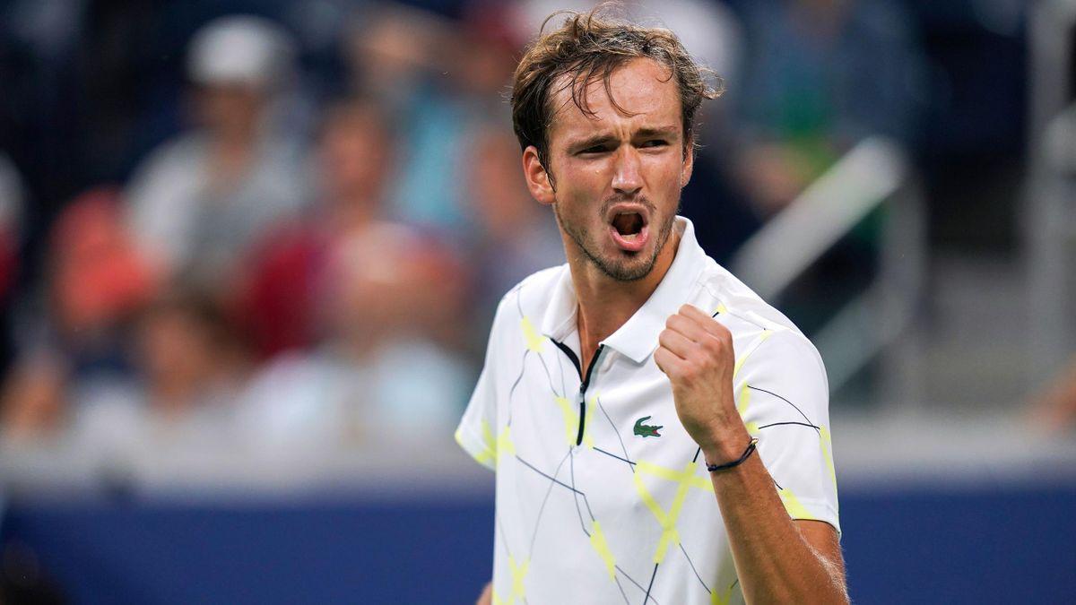Daniil Medvedev à l'US Open