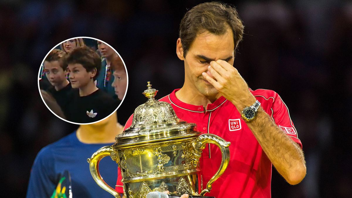 Federer lacrime Basilea