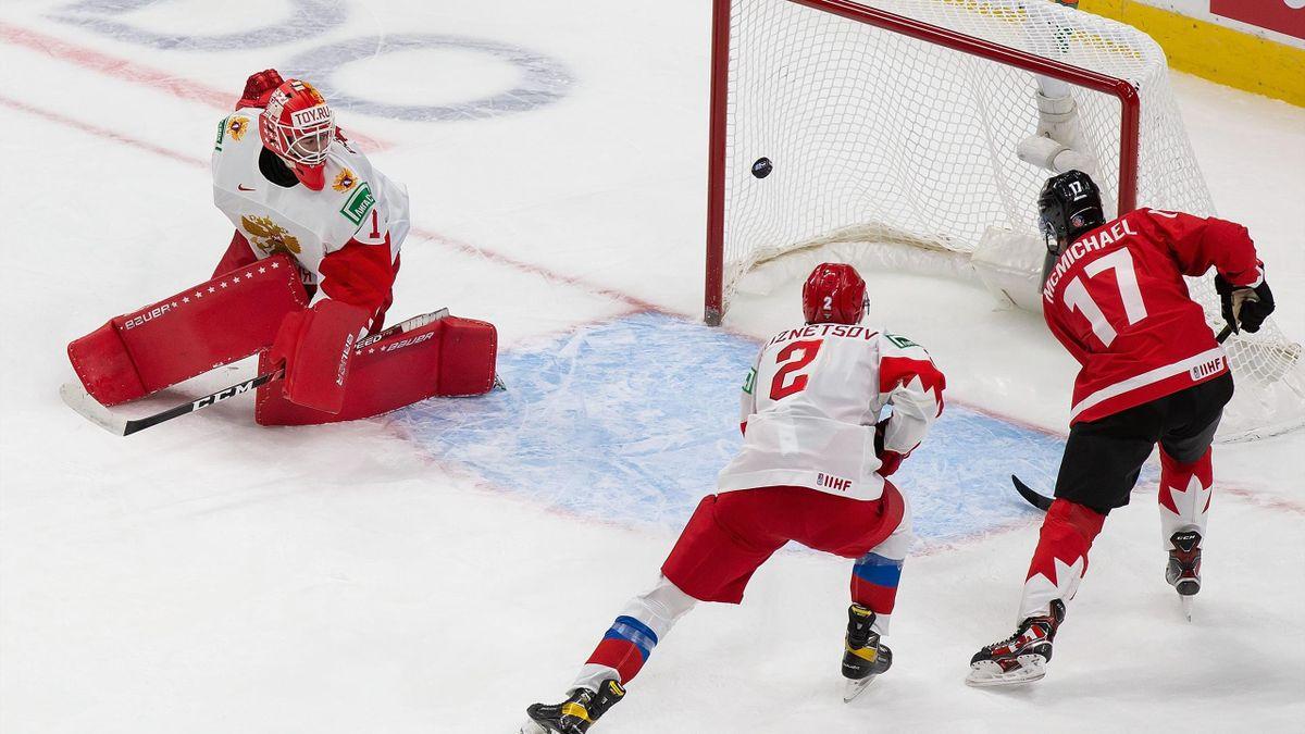 Сборная Канады против сборной России полуфинал МЧМ