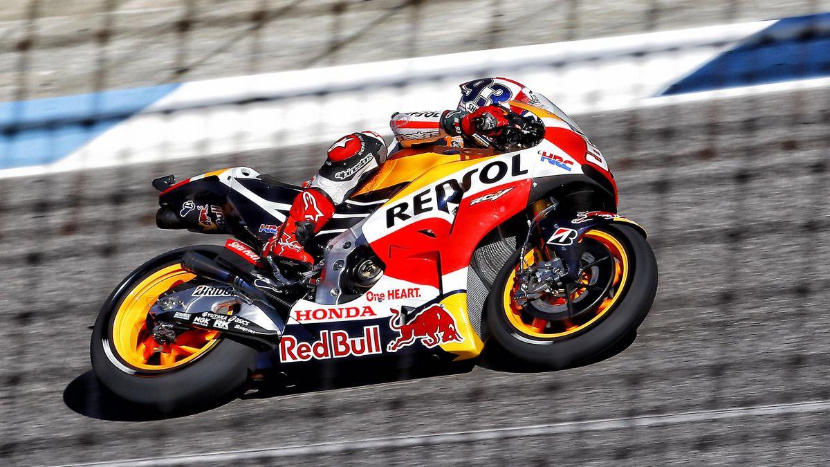 Marc Marquez (Honda HRC) au Grand Prix d'Indianapolis 2015
