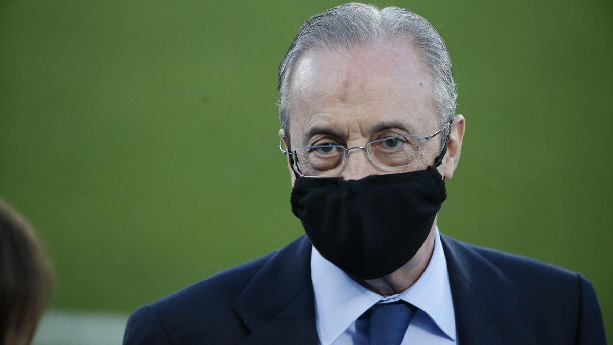 Florentino Perez, Präsident Real Madrid