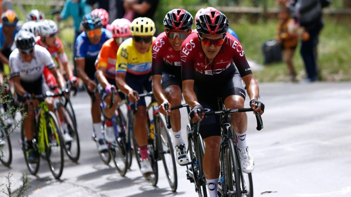 Richard Carapaz, Giro-Sieger 2019, tritt bei der Burgos-Rundfahrt an