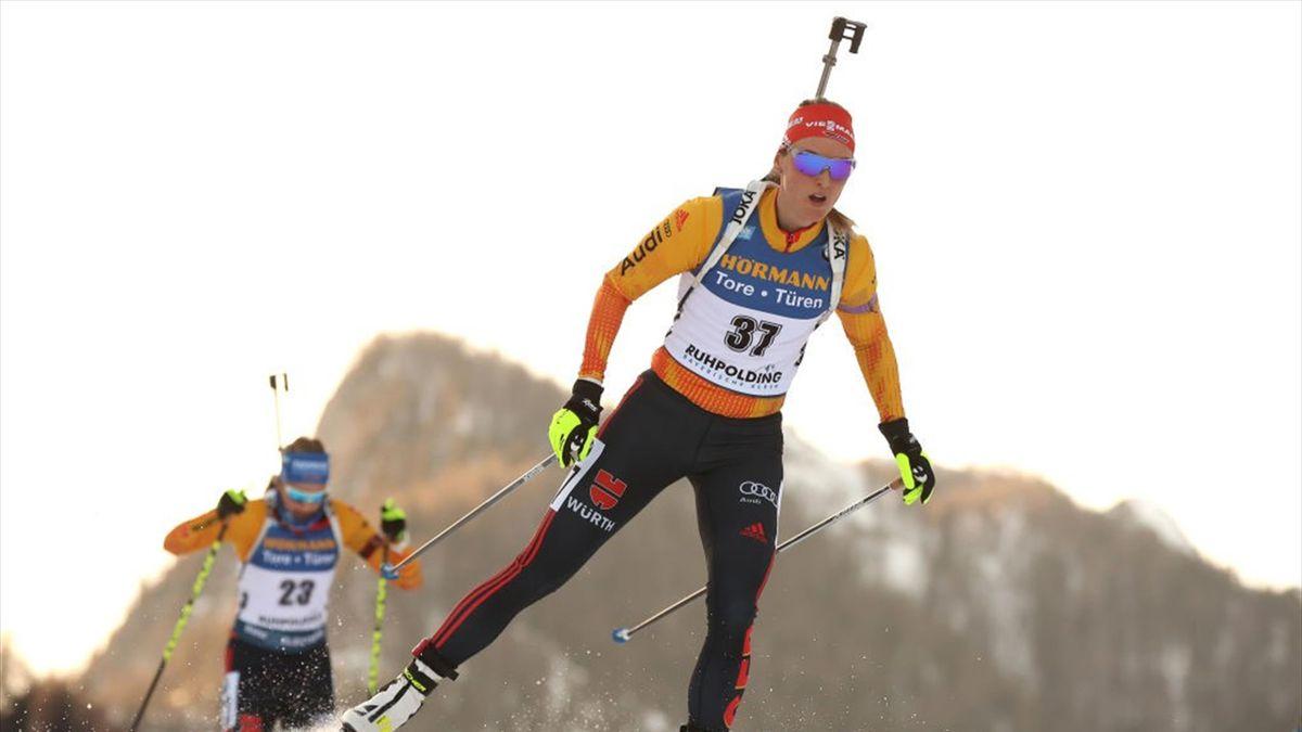 Denise Herrmann ist über die Absage des Biathlon-Weltcups 2021 in Ruhpolding enttäuscht