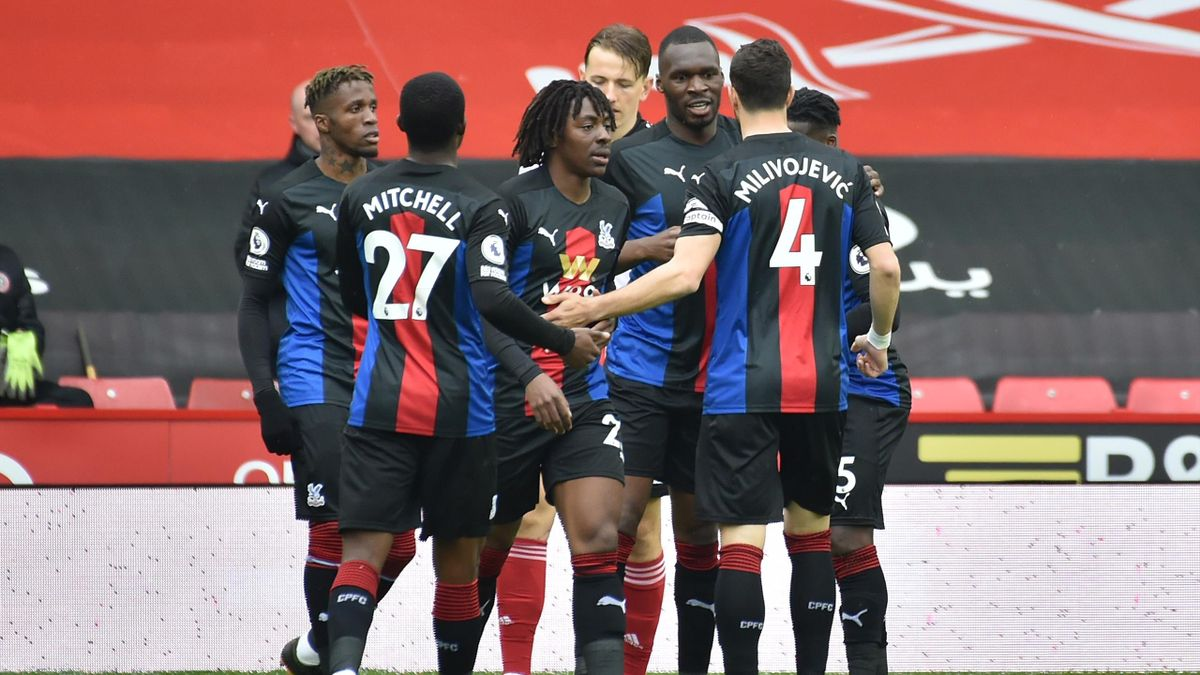 Crystal Palace celebrate