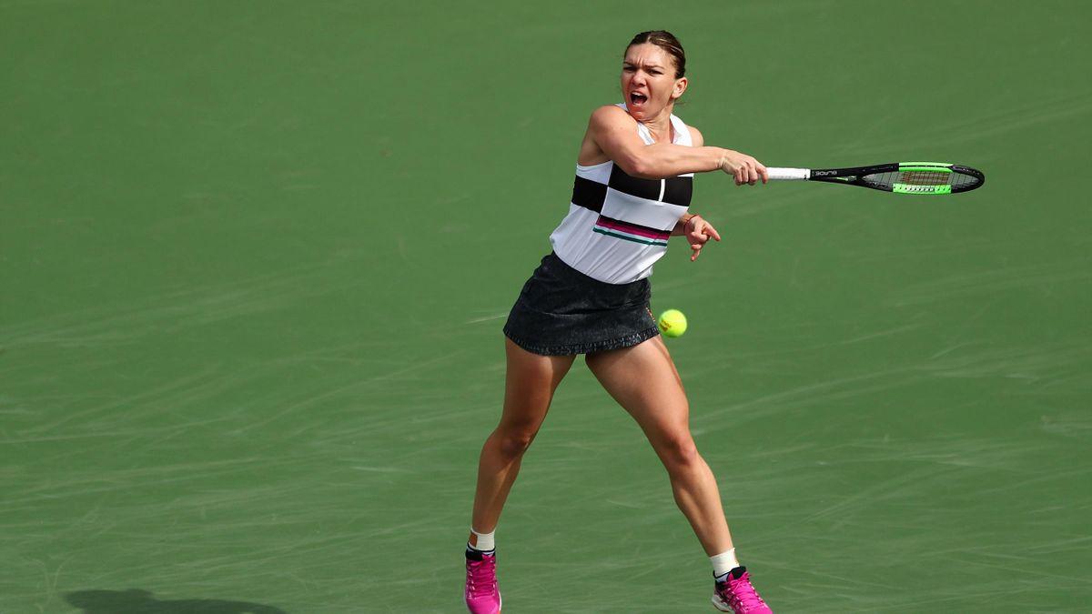 Simona Halep à Indian Wells en 2019