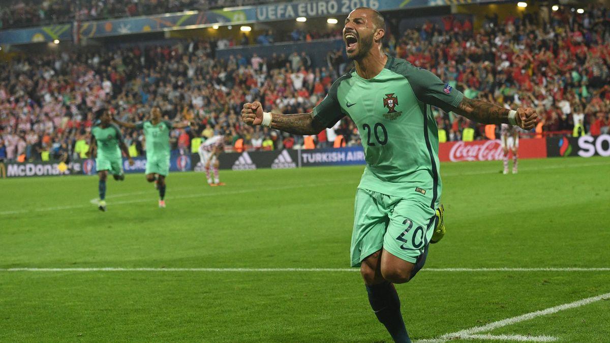 La joie de Quaresma, qui a libéré le Portugal contre la Croatie