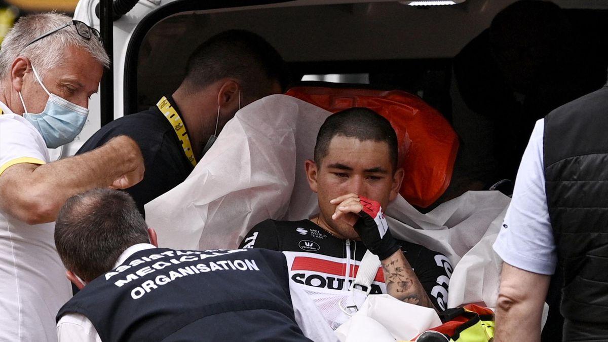 Tour de France 2021: Caleb Ewan muss die Tour nach schwerem Sturz auf 3.  Etappe vorzeitig beenden - Eurosport